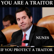You Are a Traitor if You Protect a Traitor