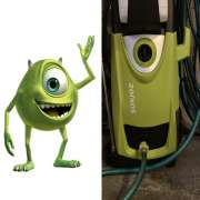 Mike Wazowski Power Washer