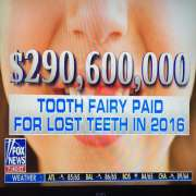 Fox New Tooth Fairy Coverage During Manafort and Cohen Breaking News