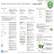 Lubridate Cheat Sheet
