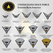 United States Space Force. Ranks and Insignia.