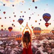 Unreal Hot Air Balloons Captured in Cappadocia